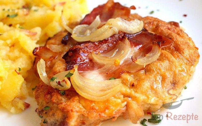 Schnitzel mal anders - von Nadja. Als Beilage eignet sich Kartoffelpüree.