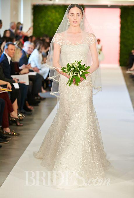 Oscar de la renta spring 2015 oakley sleeve wedding for De la renta wedding dresses