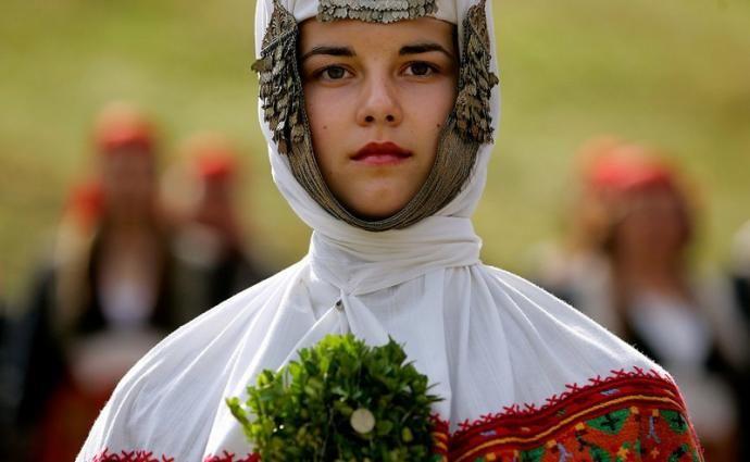 Традиционные  свадебные платья со всего мира.