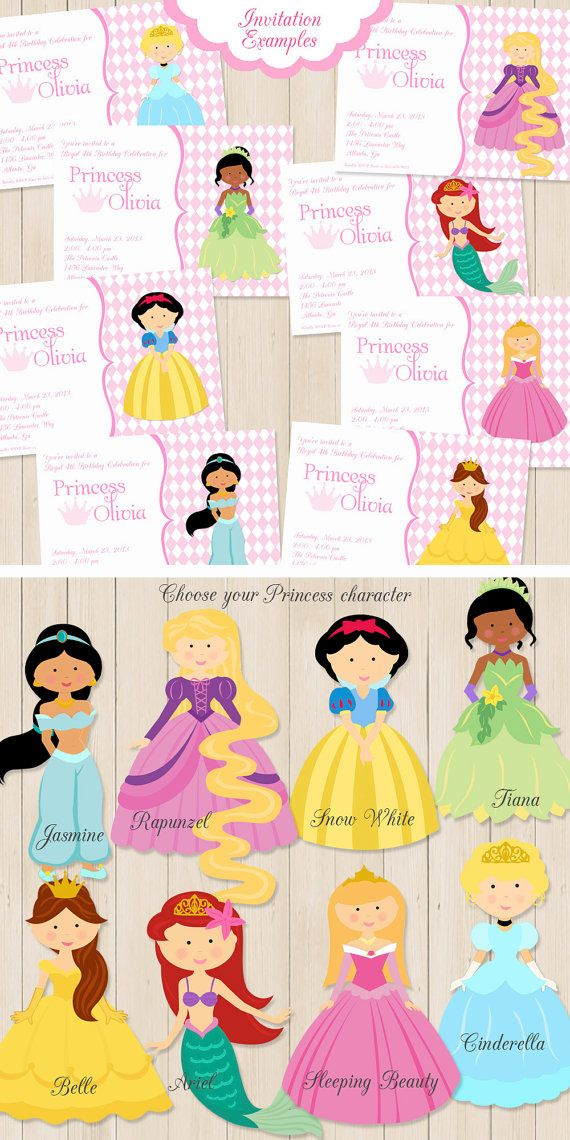 196 best disney images on Pinterest Illustrators Princess party