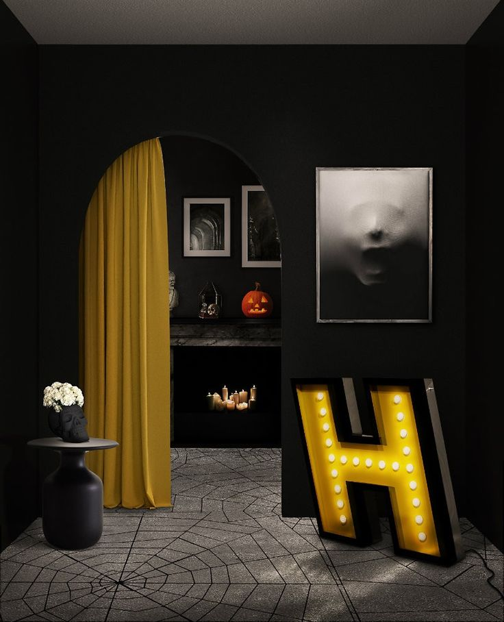 See some incredible suggestions for luxury Halloween decorations that are both spooky and chic, and that will make you the proud host of the best Halloween party in town! ➤ To see more news about luxury lifestyle visit Coveted Edition at www.covetedition.com #covetededition #covetedmagazine #halloween #interiordesign #halloweendecor #halloweendecorideas #decorideas