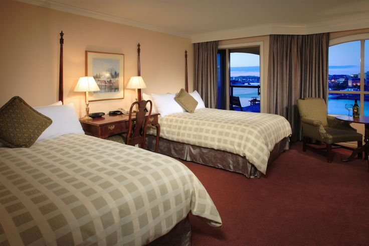Grand Double Room at the Hotel Grand Pacific in Victoria BC's Inner Harbour.
