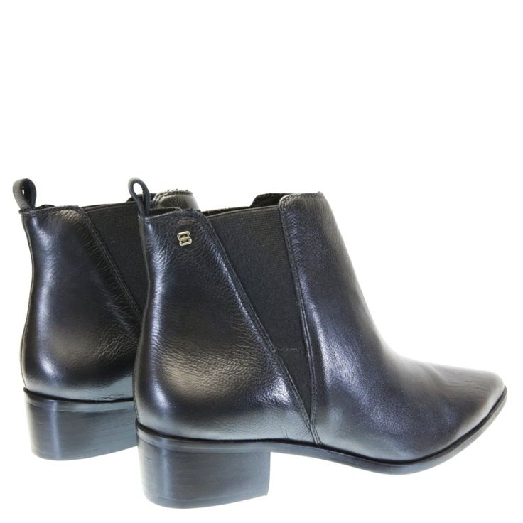 Bota Cano Curto Preta GL1 Sapri by Moselle   Moselle sapatos finos femininos! Moselle sua boutique online.