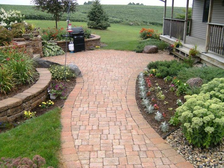 Paving Ideas, Walkway Ideas, Landscaping Ideas, Walkway Designs, Backyard  Walkway, Backyard Ideas, Outdoor Ideas, Garden Ideas, Pavers Patio