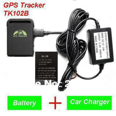 2016 New Arrival GPS Tracker TK102B + Car charger + Battery+Retail box, Free Shipping #women, #men, #hats, #watches, #belts
