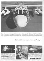 Boeing B-52H Missile Bomber 1961 Ad Picture