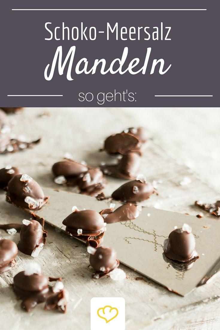 Für alle die den Mix aus süß & salzig lieben - Schoko-Meersalz-Mandeln