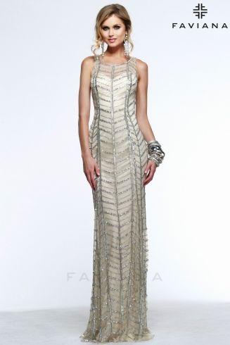 100 best Prom/Formal * Silver & Gold Dresses images on Pinterest ...