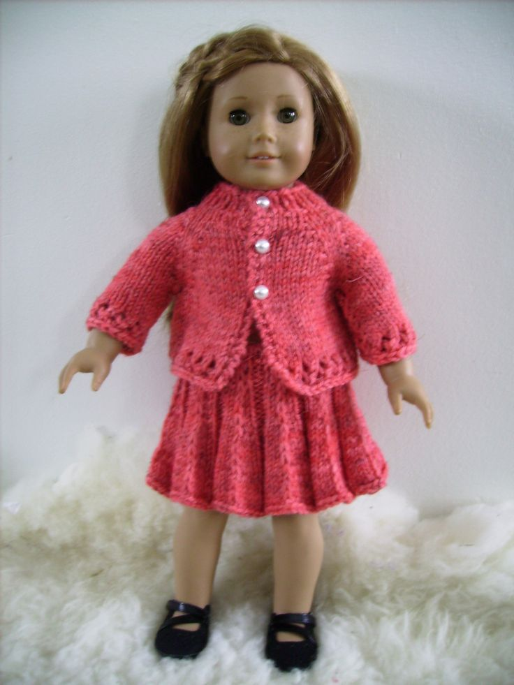 Pleated Doll Skirt Free Knitted Dolls Knitted Doll