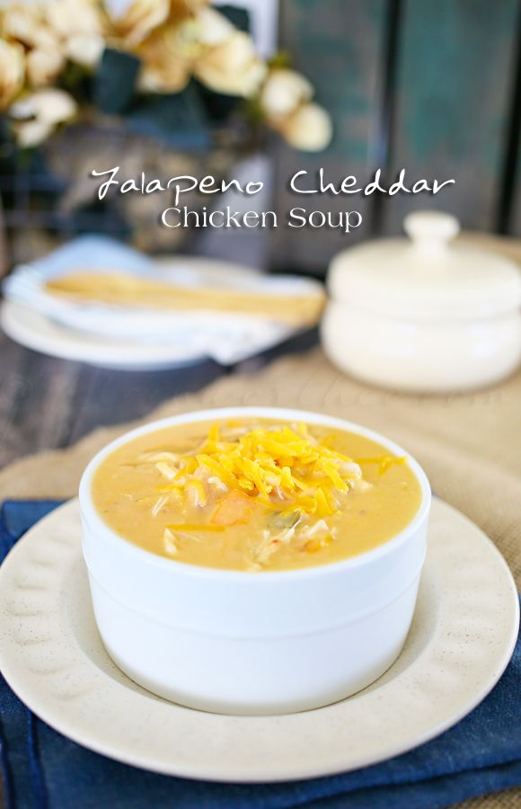 Jalapeno Cheddar Chicken Soup on kleinworthco.com