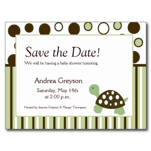 save the date dates postcards baby baby baby shower shower ideas