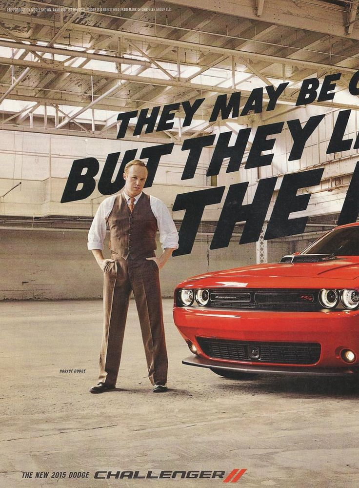 2015 Dodge Challenger Ad (1 of 2) | Muscle Car Ads ...