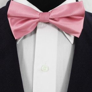 Light Pink Bow Ties / Wedding Bow Ties