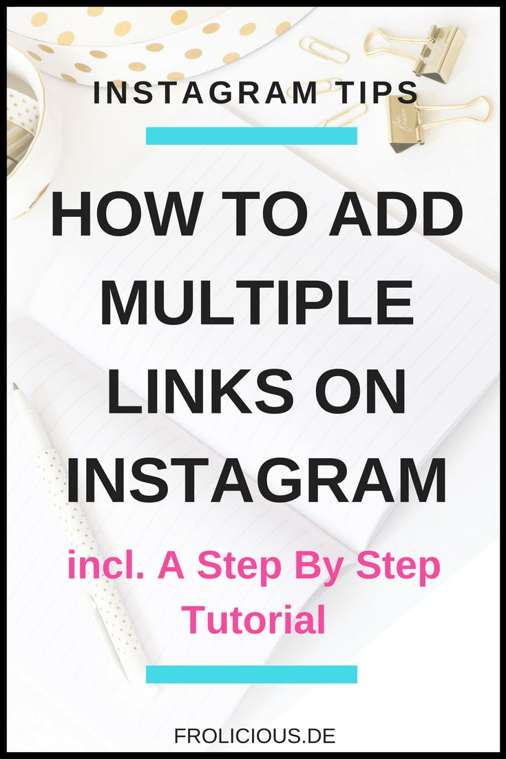 How to add multiple links on instagram in less than 10