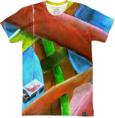 Match Box Abstract by Peter Grayson - Men's T-Shirts - $49.00 # Nuvango #abstract #tshirt