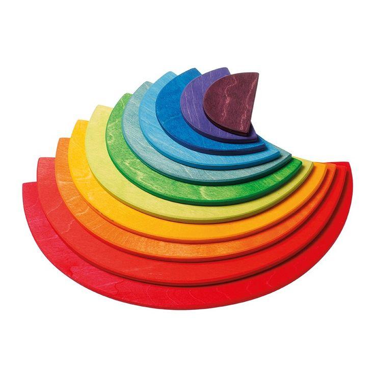 Grimm's Rainbow Semi-Circles