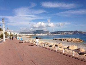Nice, France Promenade des Anglais South of France