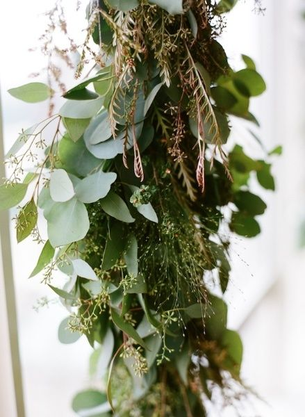 seeded eucalyptus garland | -wedding decorations ...
