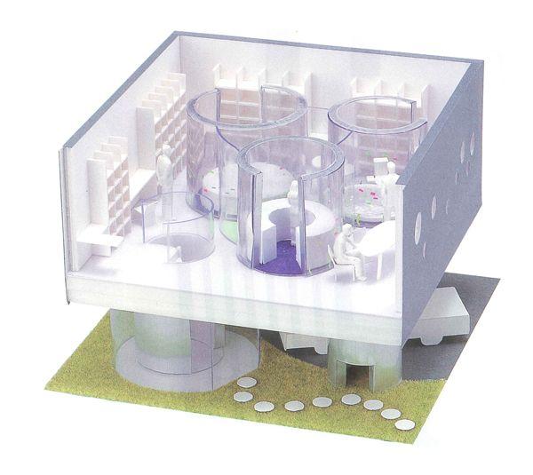 Unique House Simulation: Aquarium House / LiVES vol.07 2003 winter