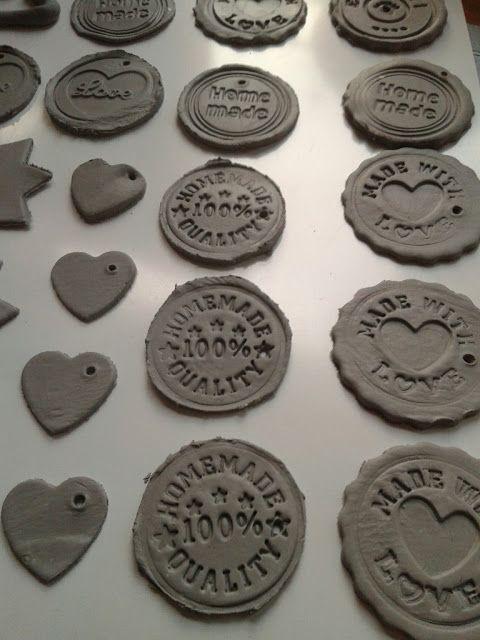 * Uit Mijn Keukentje: DIY: Kadolabels maken met klei