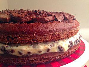 Torta pere ricotta e cioccolato senza burro, una torta speciale e golosa di dolci senza burro in collaborazione con cake boss!