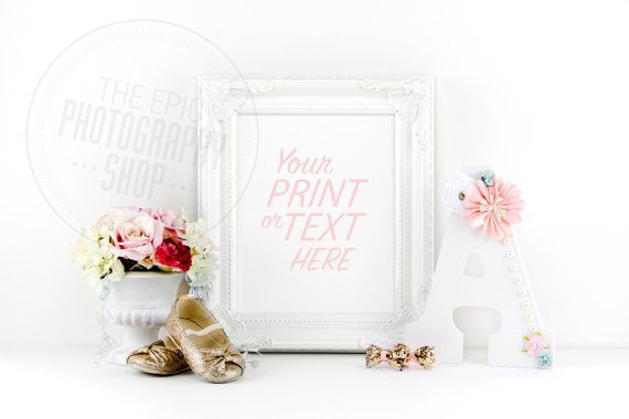 Print Background / Blank Frame / Styled Stock Photography / Product Photography / Staged Photography / Product Background / GR011
