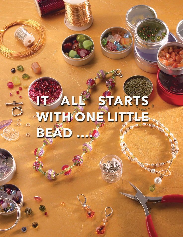 DIY: IT ALL STARTS WITH ONE LITTLE BEAD