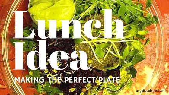 Lunch Salad – Salade Repas | Angélique Binet En manque d'inspiration? Pas de panique, on est là pour s'entraider. Voici ma dernière recette de crudités en salade – incluant protéines, vitamines et super aliments. Le tout sans gluten ni produit laitier. De vous à moi, bon appétit! → In a salad rut? No panic. I was inspired today. Here is my latest salad gluten free recipe – a full meal – packed of veggies, proteins and super foods. From me to you.