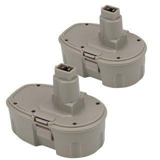 [Features & Benefits] Weize 2Pack 18V 3.0Ah Replacement Battery for DEWALT XRP DC9096 DE9039 DE9095 DE9096 DE9098 DW9095 DW9096 DW9098 DE9503 High Capacity Cordless Power Tools (Pod-Style)