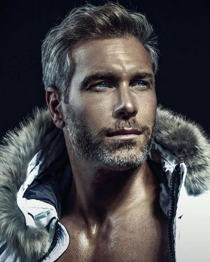 Pin on Men: Silver Foxes