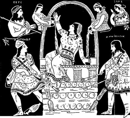 the heroic acts of hercules the son of zeus (though zeus had declared that his son would inherit the mycenaean kingdom, hera's meddling meant that another baby boy, the feeble eurystheus, became its leader instead)  the heroic labors .