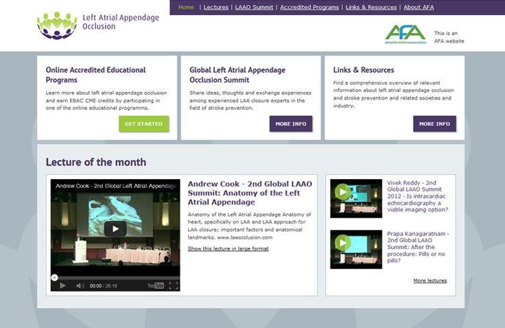Cowpunks heeft niet alleen de ontwerpen gemaakt voor de website maar was ook verantwoordelijk voor de gehele technische uitwerking en de verwerking van de films en de e-learning omgeving.  http://cowpunks.nl/portfolio_webdesign_websites_webapplicaties_onlinemarketing/laa_occlusion