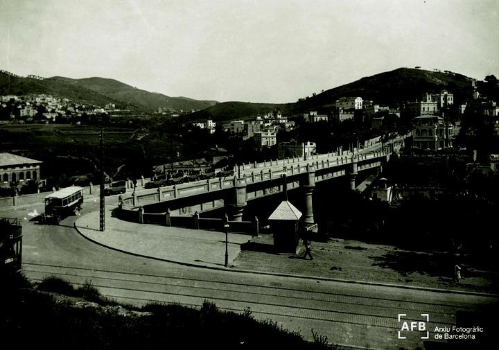 Pont de Vallcarca, 1923