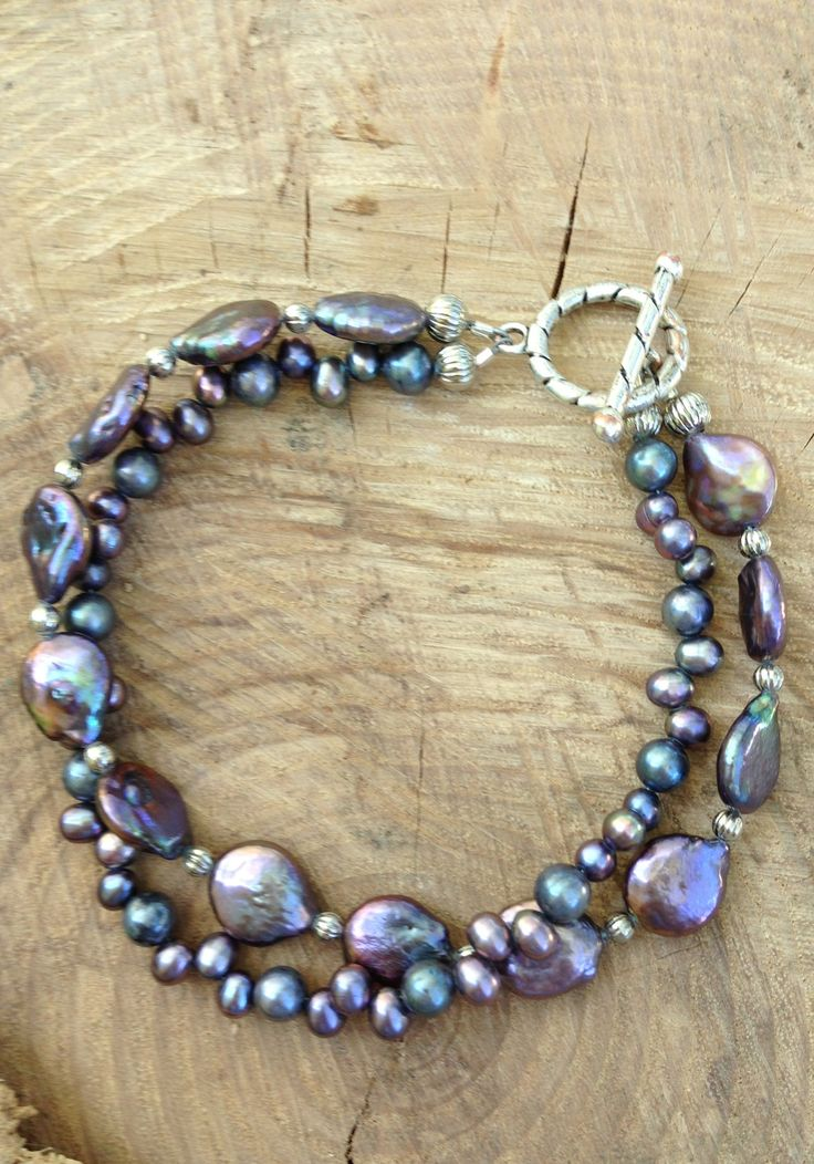 Absolutely LOVE Freshwater and Seed Pearls of this color!