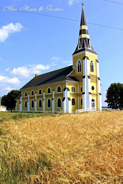 Indian River Church, Prince Edward Island via Aiken House & Garden