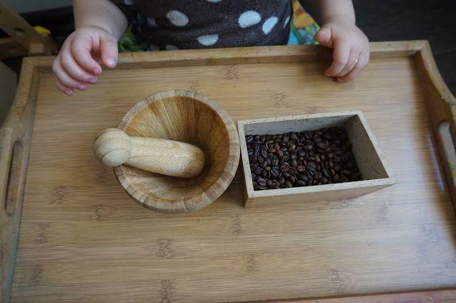 kreatywnyMaks: Montessori - i życie codzienne ( 0-3 )  Moździerz ...