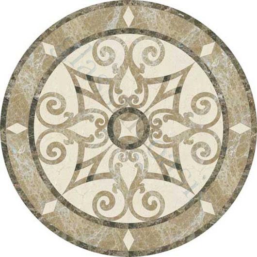 Foyer Medallion Designs : Foyer flooring jet stone corporation medallion series