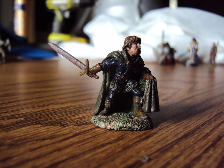 Human Rogue figure that I painted for a specific figure.  His name is Alphonse Krintel.