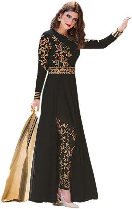 a9e205a859 Shoppingover Indian Salwar Kameez Bollywood Designer Pakistani Anarkali Suit.:  Amazon.co.uk: Clothing