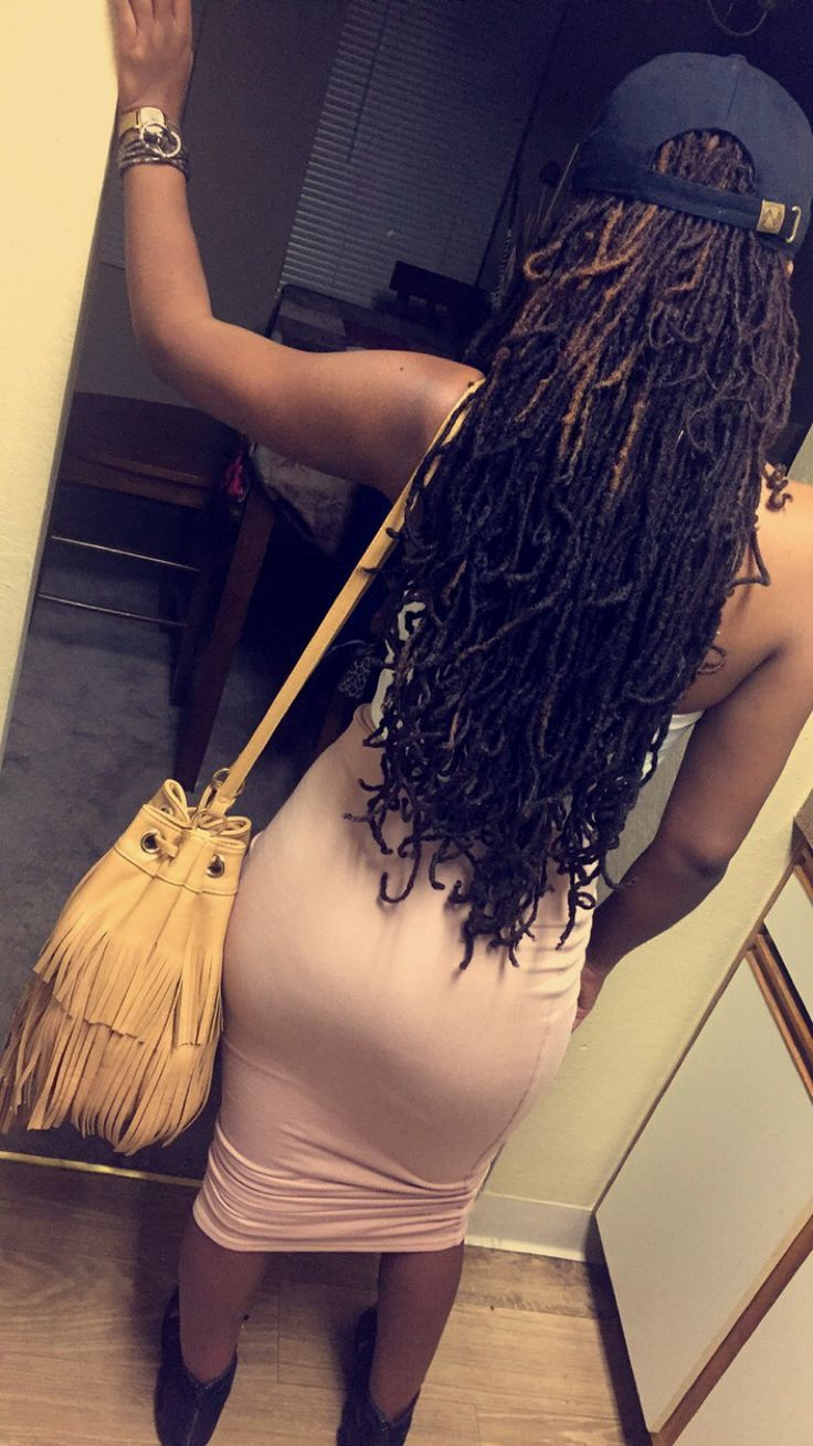 Girls with glasses  Long Locs  Locs  Girls with Locs  Girls with dreads Pretty g…