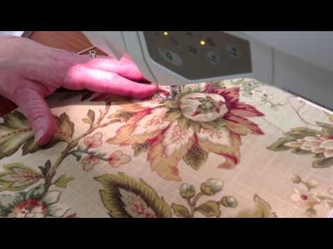 Thread Painting on a Sweet Sixteen - YouTube