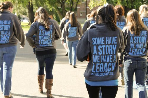 Alum Shirts!   Some have a story, we have a legacy.