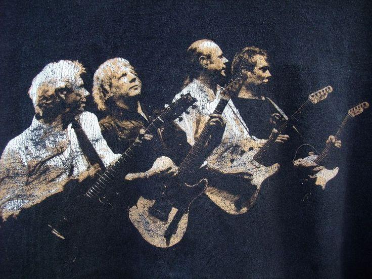 Status Quo Tour Just Doin It shirt 2006 100% Cotton size XXL black