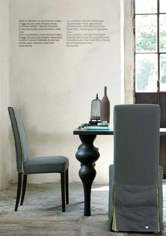 Iris, sedia by COLICO