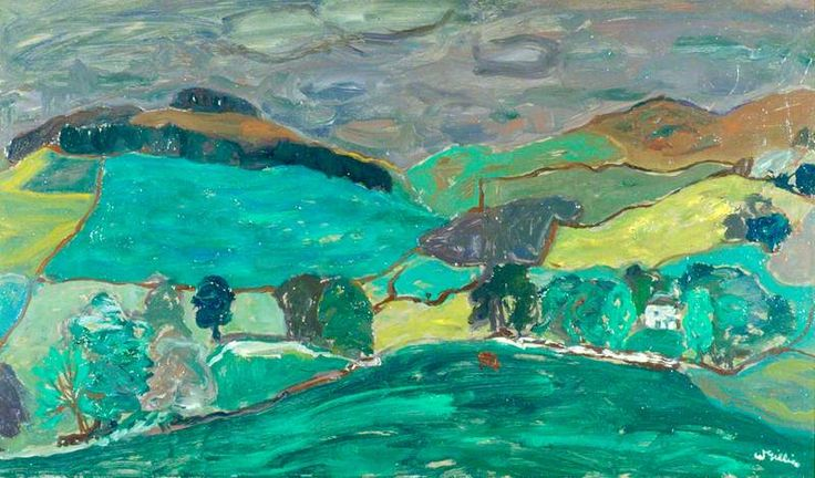 Peeblesshire Landscape by William Gillies