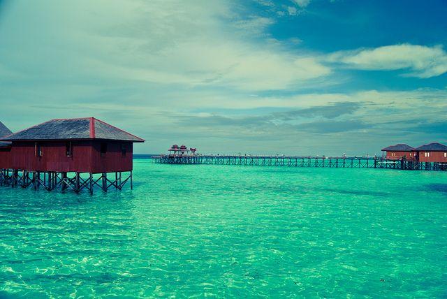 Maratua Island, Kalimantan, Indonesia.