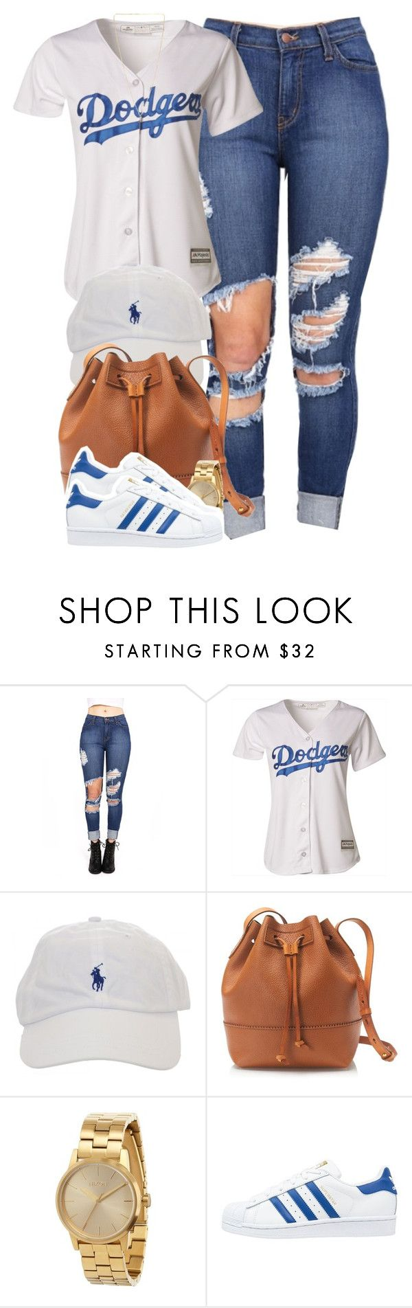 """Waiting for your items to arrive that you ordered online is torture "" by cheerstostyle ❤ liked on Polyvore featuring Majestic, J.Crew, Nixon, adidas Originals and Pieces"