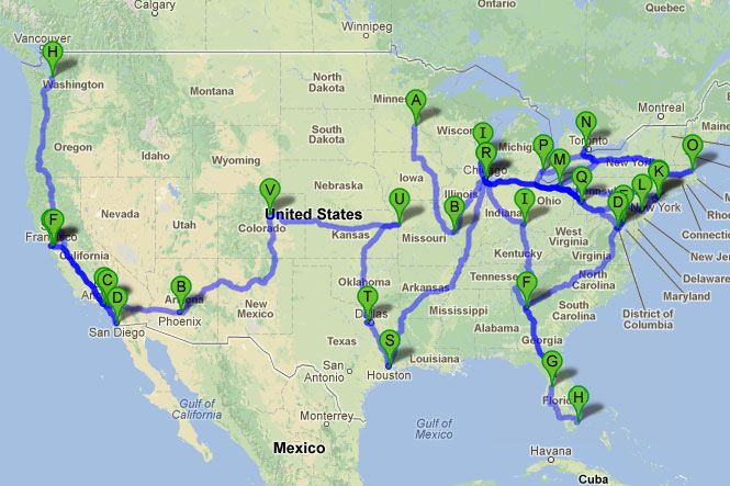 The ultimate baseball road trip: 30 stadiums in 30 days.