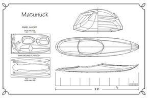 Matunuck Surf Kayak Plans   Guillemot Kayaks - Small Wooden Boat Designs