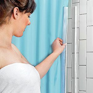 Curtain Clasper   Simply Attach To Your Curtain And Bath Surround. Built